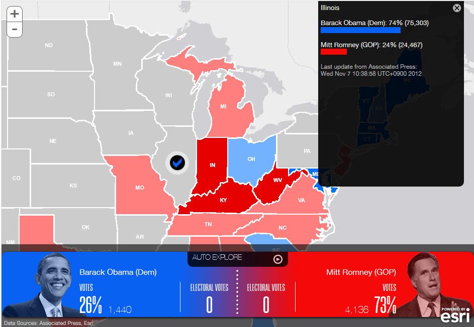 開票 アメリカ 大統領 選挙 アメリカ大統領選、注目すべき激戦7州の状況は【開票速報】