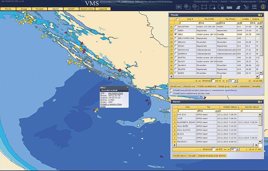 事例漁船の追跡システムでEUの共通漁業政策をサポート