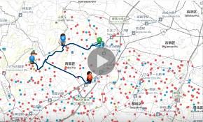 地図のWeb化による情報共有のデモ動画