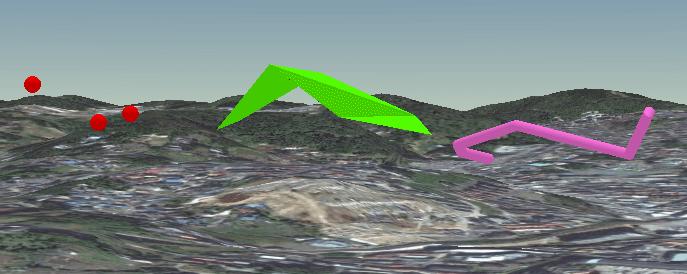 3d,gis_04_3D 景観でみる 3D フィーチャ