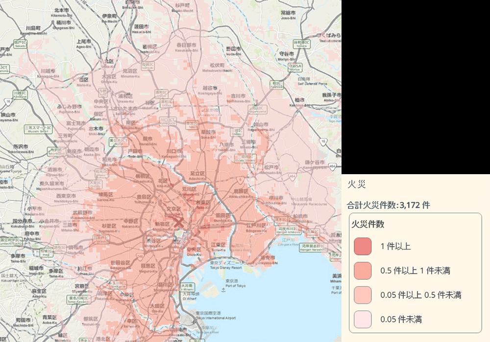 マップ 前橋 市 ハザード