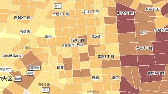 推計将来人口データ