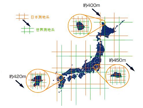 日本で使用される座標系 | ESRI...