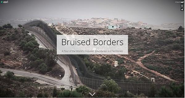踏みにじられた国境 | ESRIジャパン