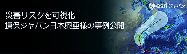 災害リスクを可視化!損保ジャパン日本興亜様の事例公開