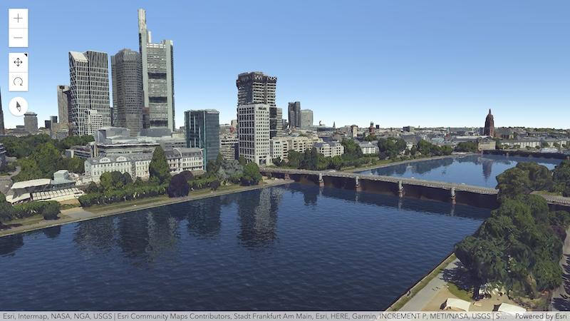 3D でのリアルな水面の可視化